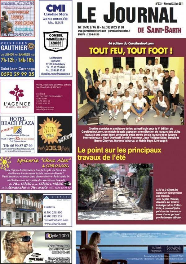 JOURNAL DE ST BARTH : Grand Cul de Sac «Inertie des pouvoirs publics»