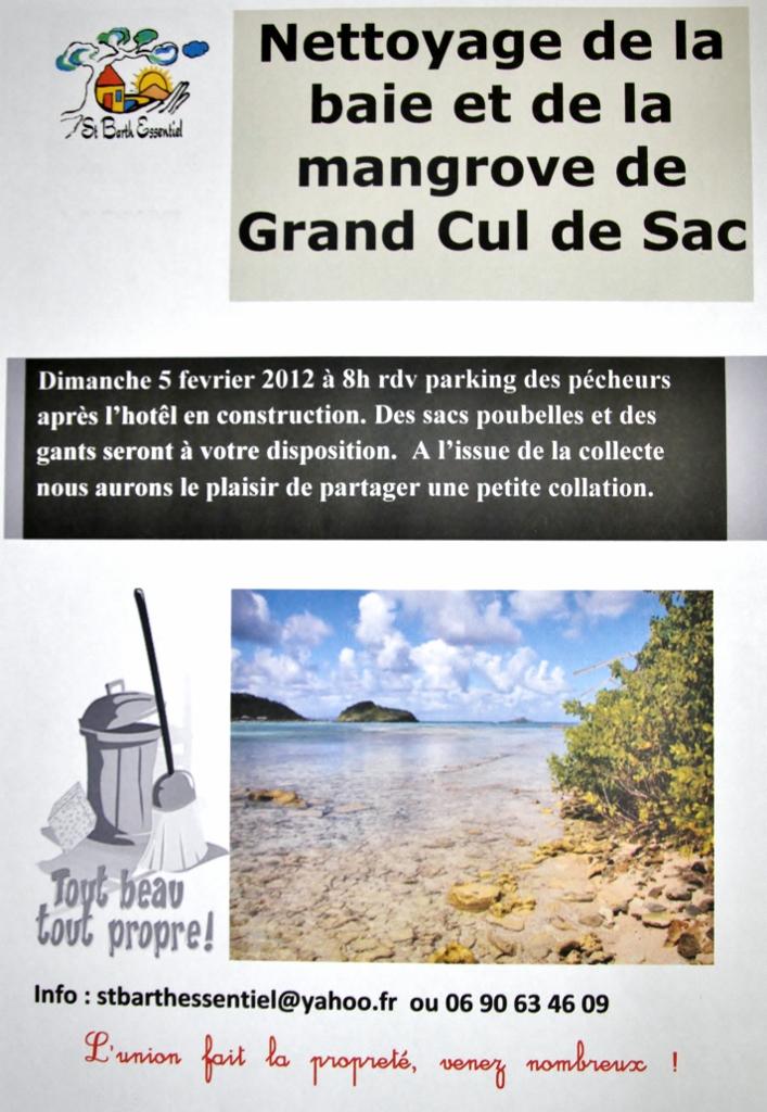 NETTOYAGE DE GRAND CUL DE SAC