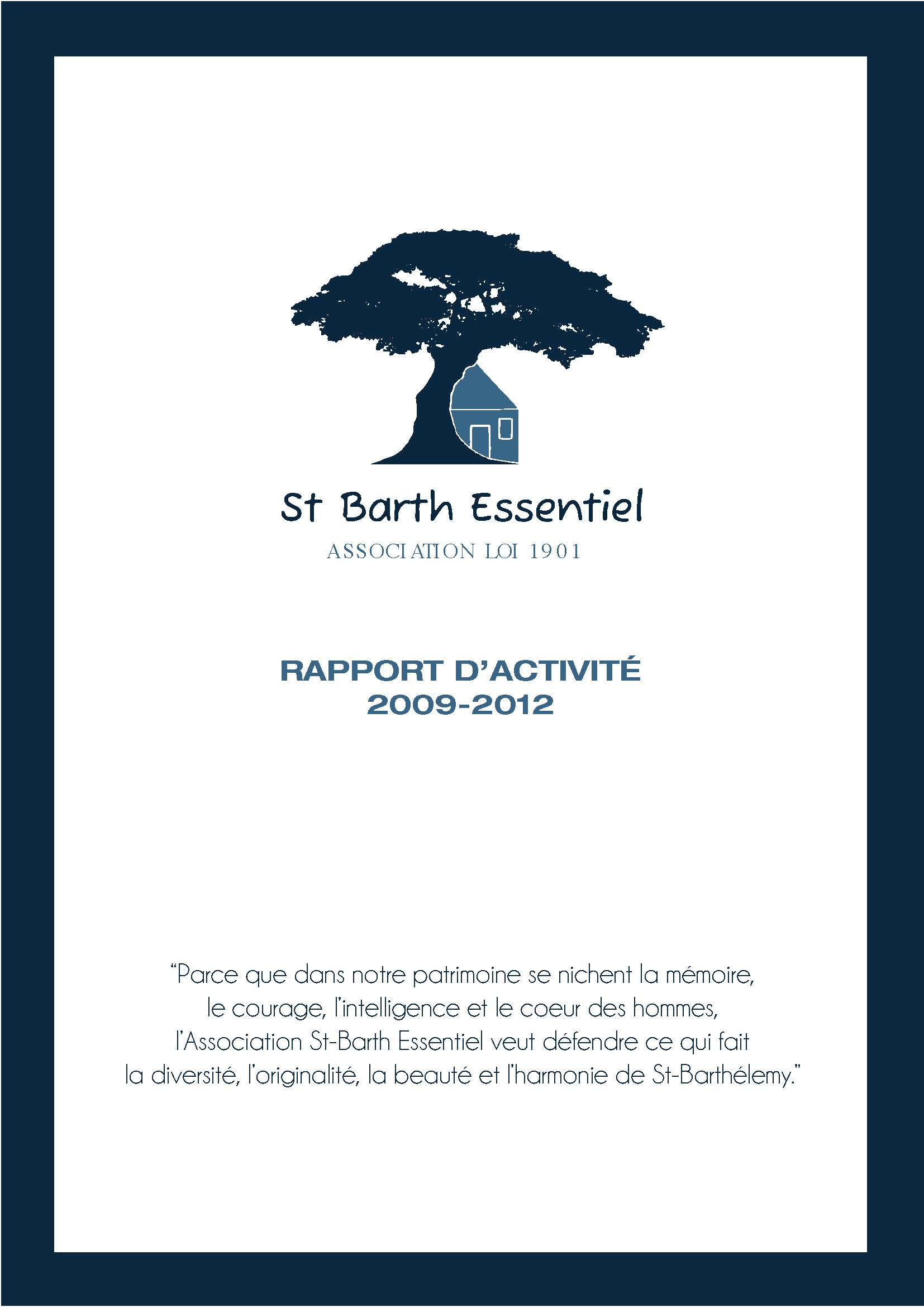 ACTIVITY REPORT 2009-2012