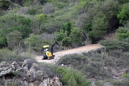 Illegal Construction on Saline Beach
