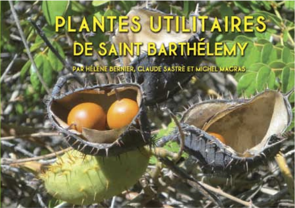 "Our first book ""PLANTES UTILITAIRES DE SAINT-BARTHÉLEMY"" still on sale"