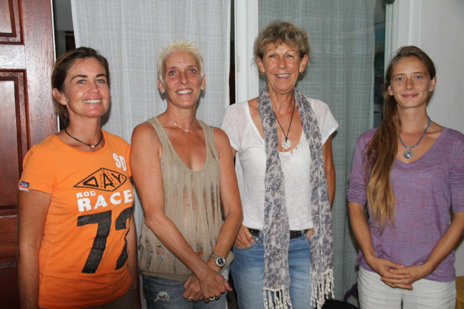 Le nouveau bureau de l'assocaition (de gauche à droite) : Hélène Bernier, Nathalie Chenot, Brigitte Feillet, Clémence Jarry. Christine Schiltz absente sur la photo.