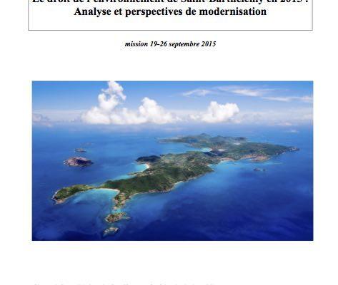 CODE DE L'ENVIRONNEMENT:  Le rapport de mission maintenant en ligne