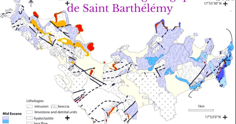 What we learn from the rocks of St. Barthélemy