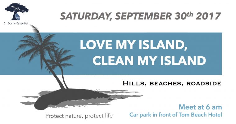 "Present to ""Love my island, clean my island"" campaign"